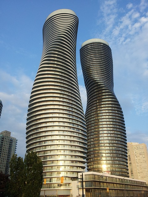 Mississauga, Ontario - two office-condo towers