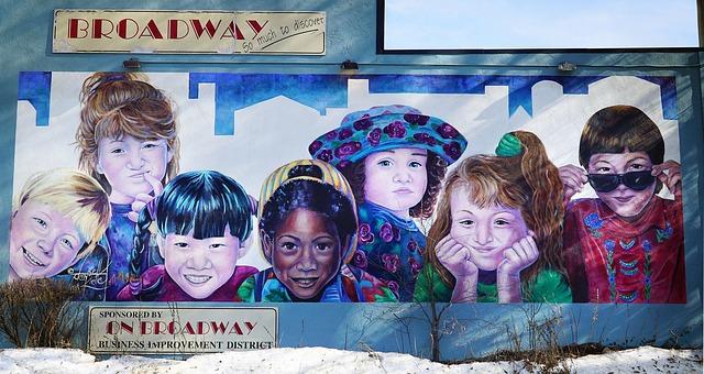 Saskatoon, Saskatchwan -Broadway Mural